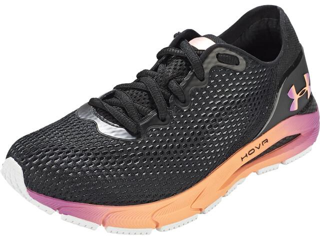 Under Armour Hovr Sonic 4 Clr Shft Running Shoes Women, black-mellow orange
